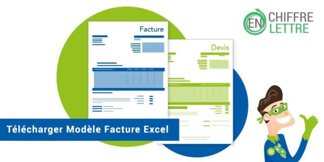 modele facture excel telechager